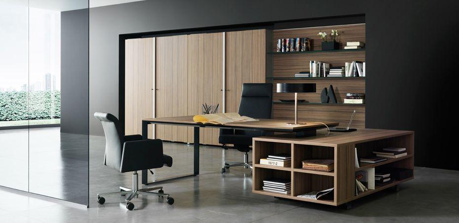 Planeta Chefschreibtische Von Dvo Designer Antonio Morello Desain Kantor Rumah Desain Interior Rumah Desain Interior Modern