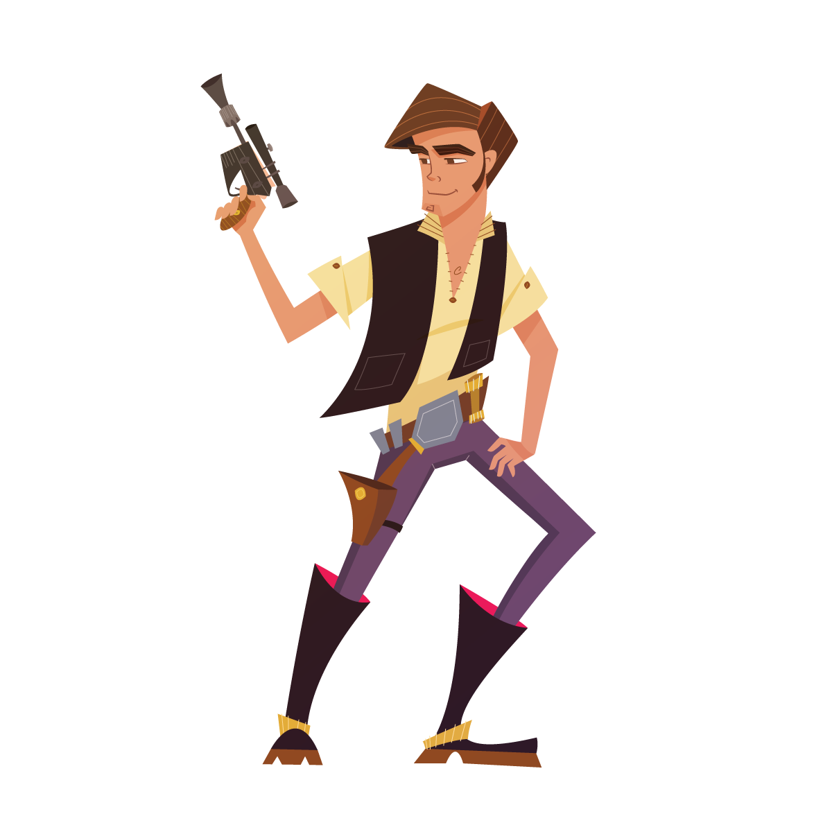 Han Solo By Rogie King Star Wars Images Star Wars Characters Hans Solo