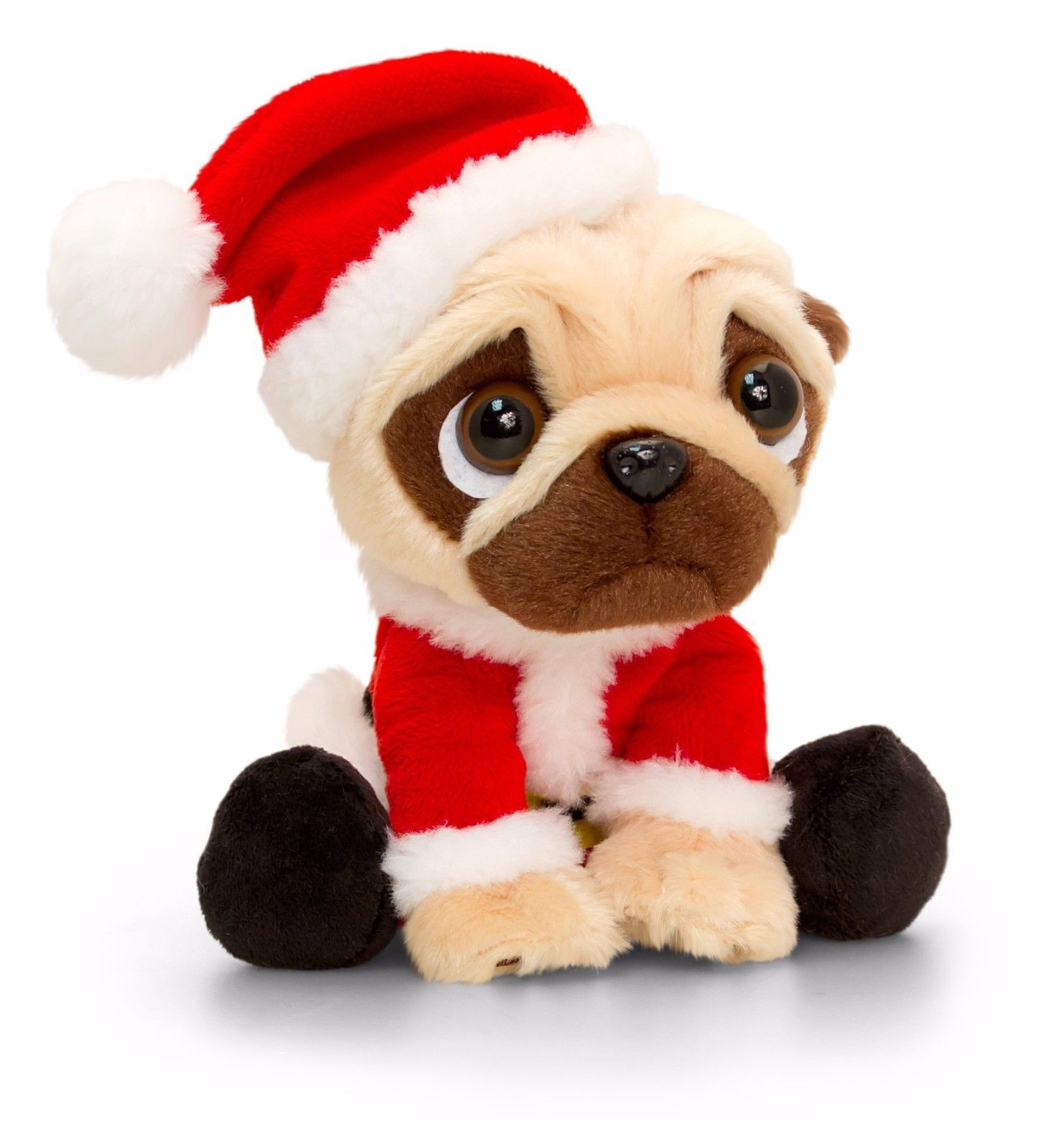 Pug Santa Plush Toy Available At Www Ilovepugs Co Uk Post