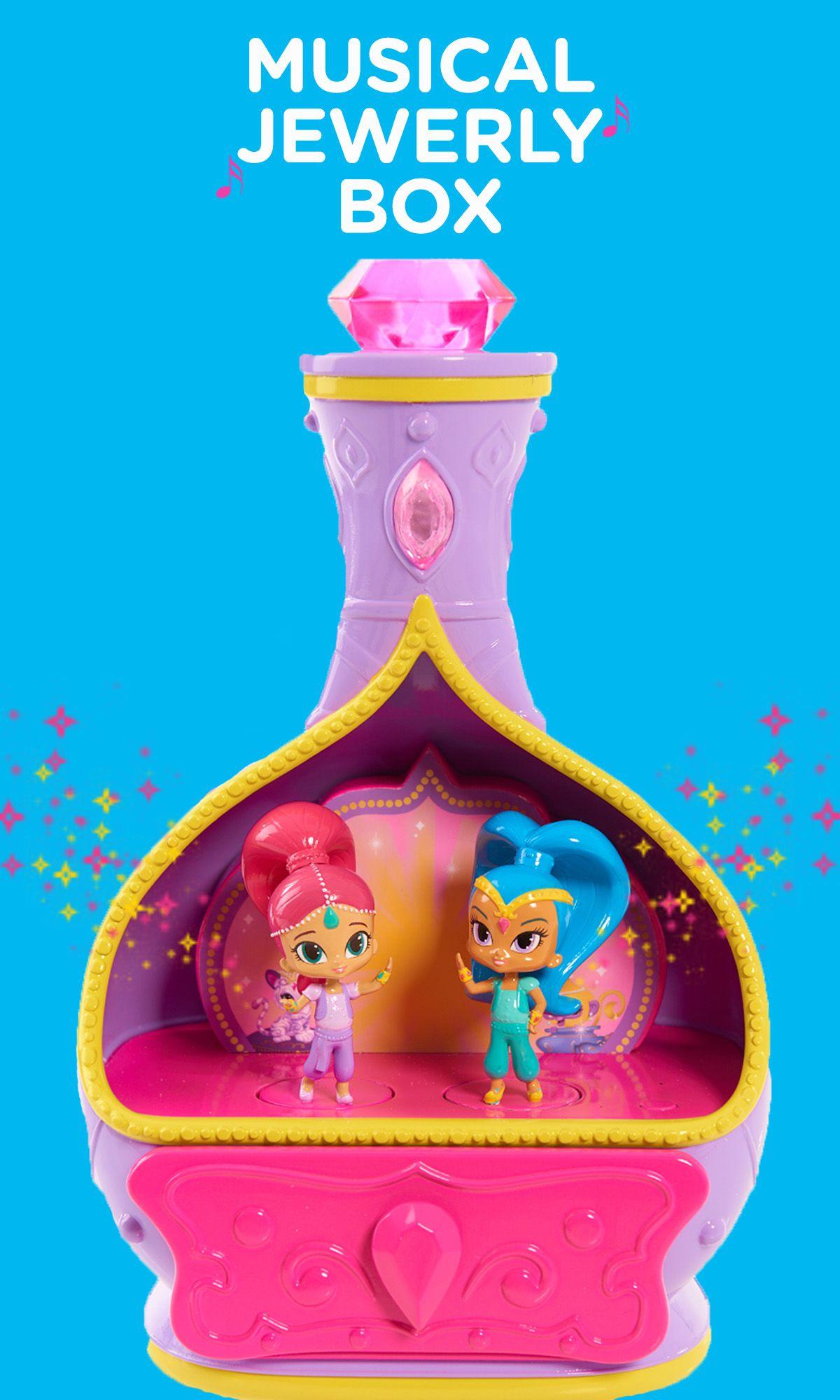 Nickelodeon Shimmer and Shine Magic Wishes Jewelry Set | Genie Wish