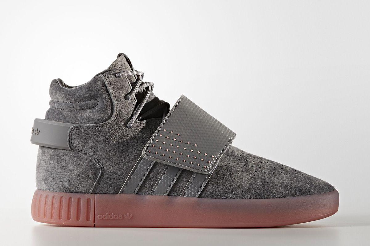 416d243a3c0 adidas Tubular Invader Strap  Grey Four Raw Pink  - EU Kicks  Sneaker  Magazine