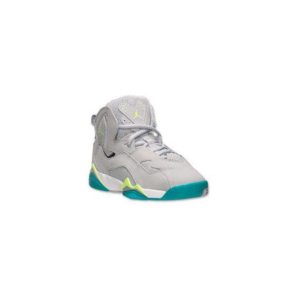 Girls Grade School Jordan True Flight Basketball Shoes 95