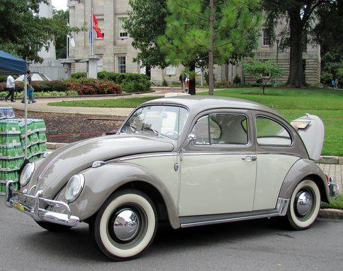 Two Tone Vw Vw Ideas Pretty Cars Volkswagen Bug