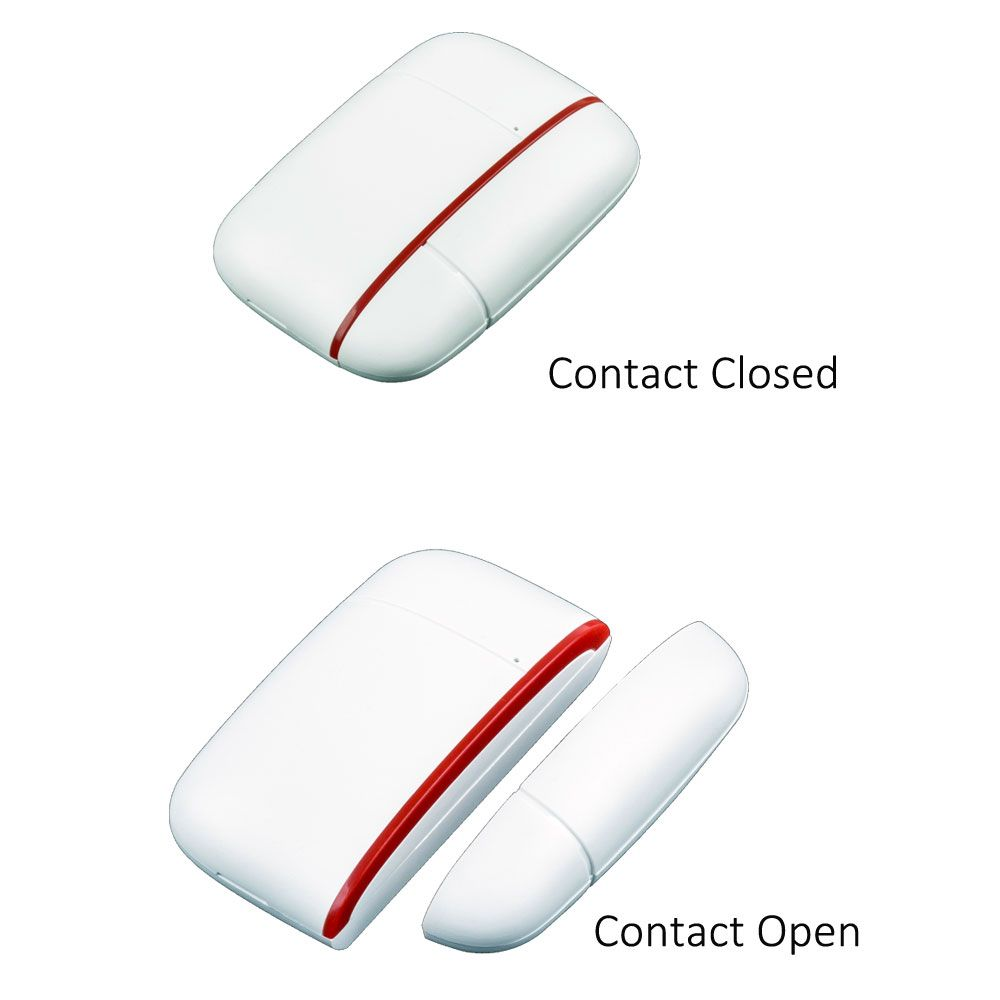 Wireless Window Door Contact Switch Application Windows And Doors Wireless Red Led