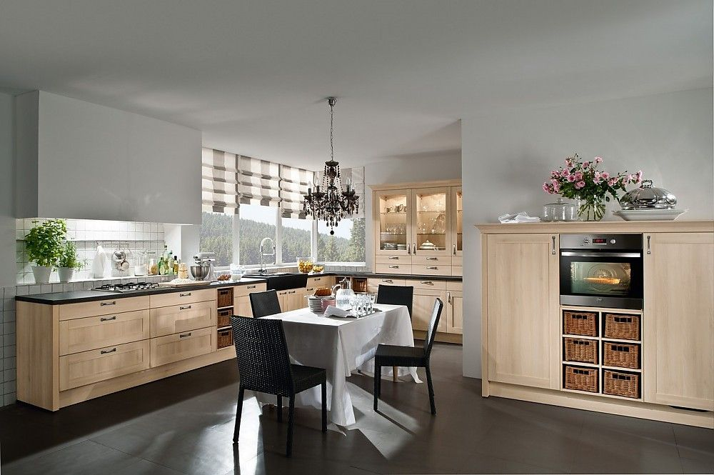 gemütliche und moderne landhausküche in l form küche l form