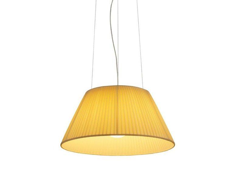 Lampada A Sospensione In Tessuto Romeo Soft S By Flos Design Philippe Starck
