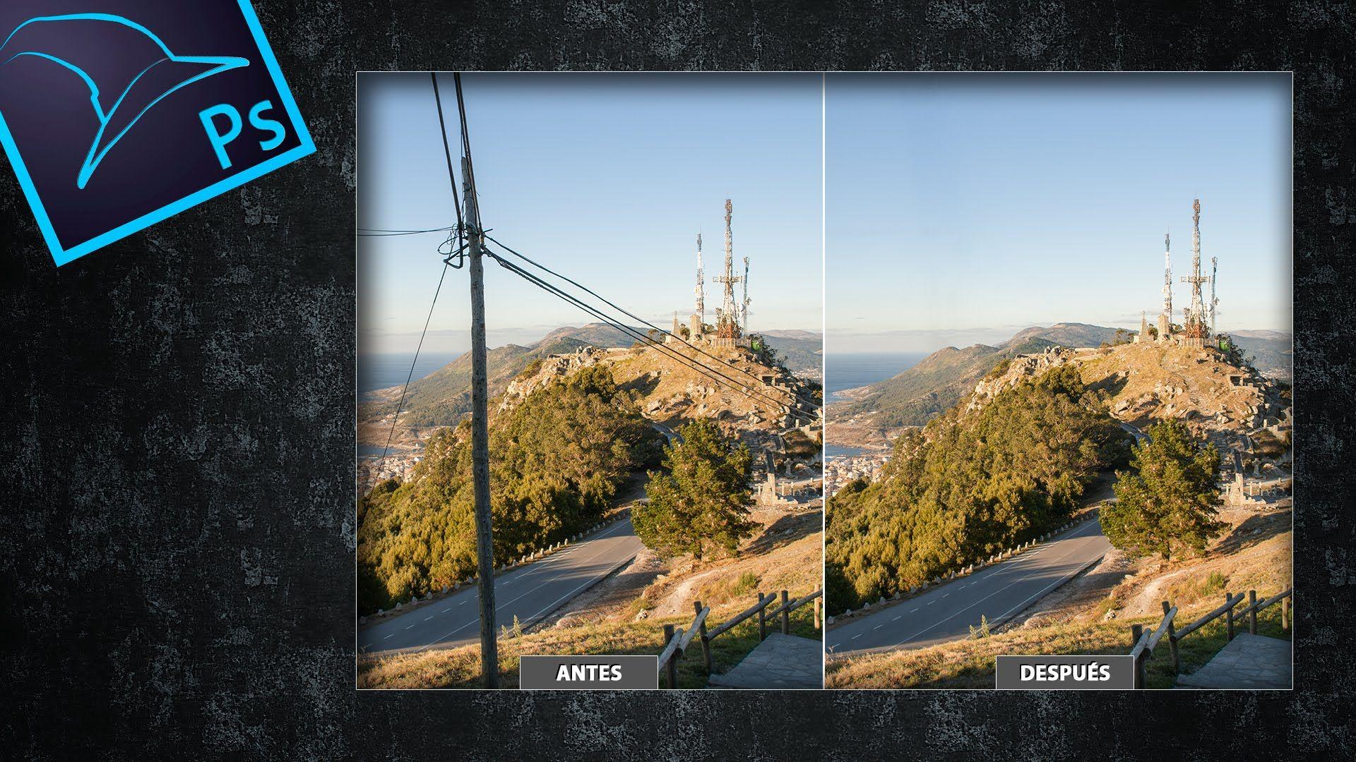 Cómo quitar cables de la luz a tus fotografías con Photoshop by @Tripiyon
