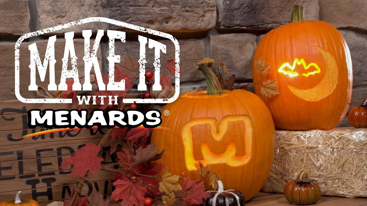 Power Tool Pumpkin Carving Make It With Menards Pumpkin Carving Carving Pumpkin