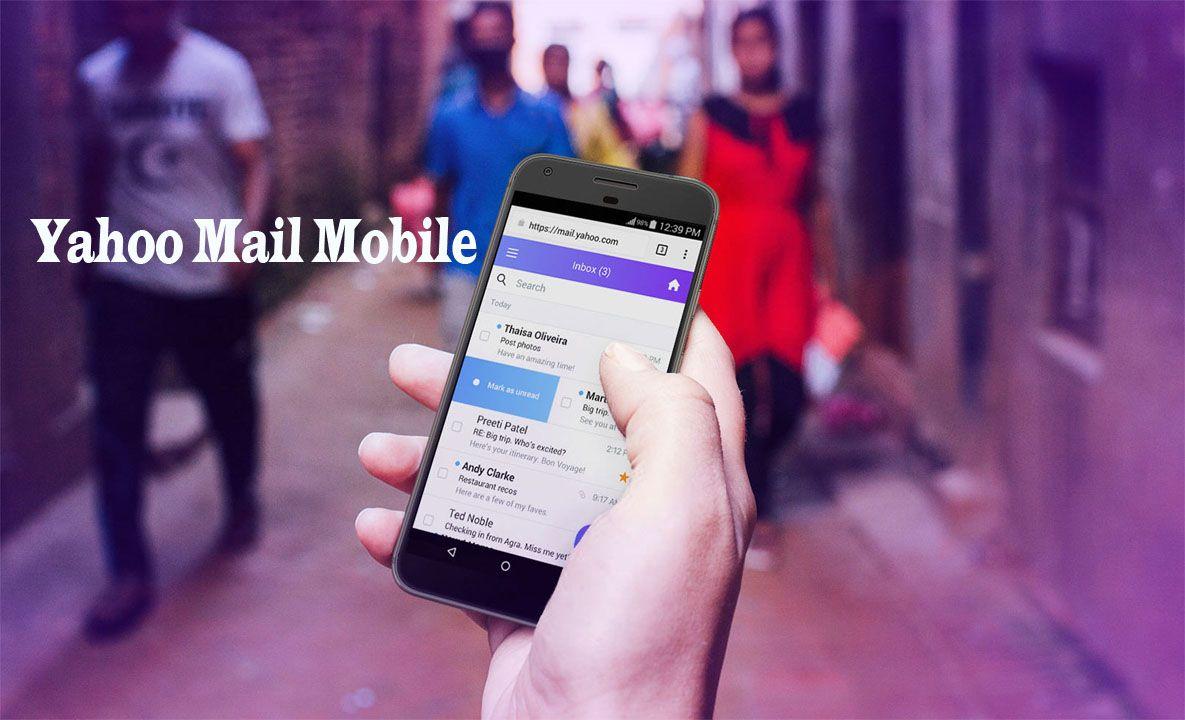 Yahoo Mail Mobile Yahoo Mail in Mobile Yahoo Mail