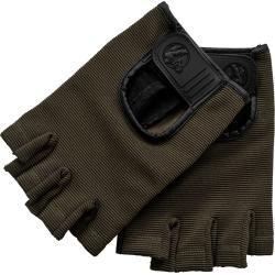 Fitness Handschuhe Leder Khaki S Gorilla Sports