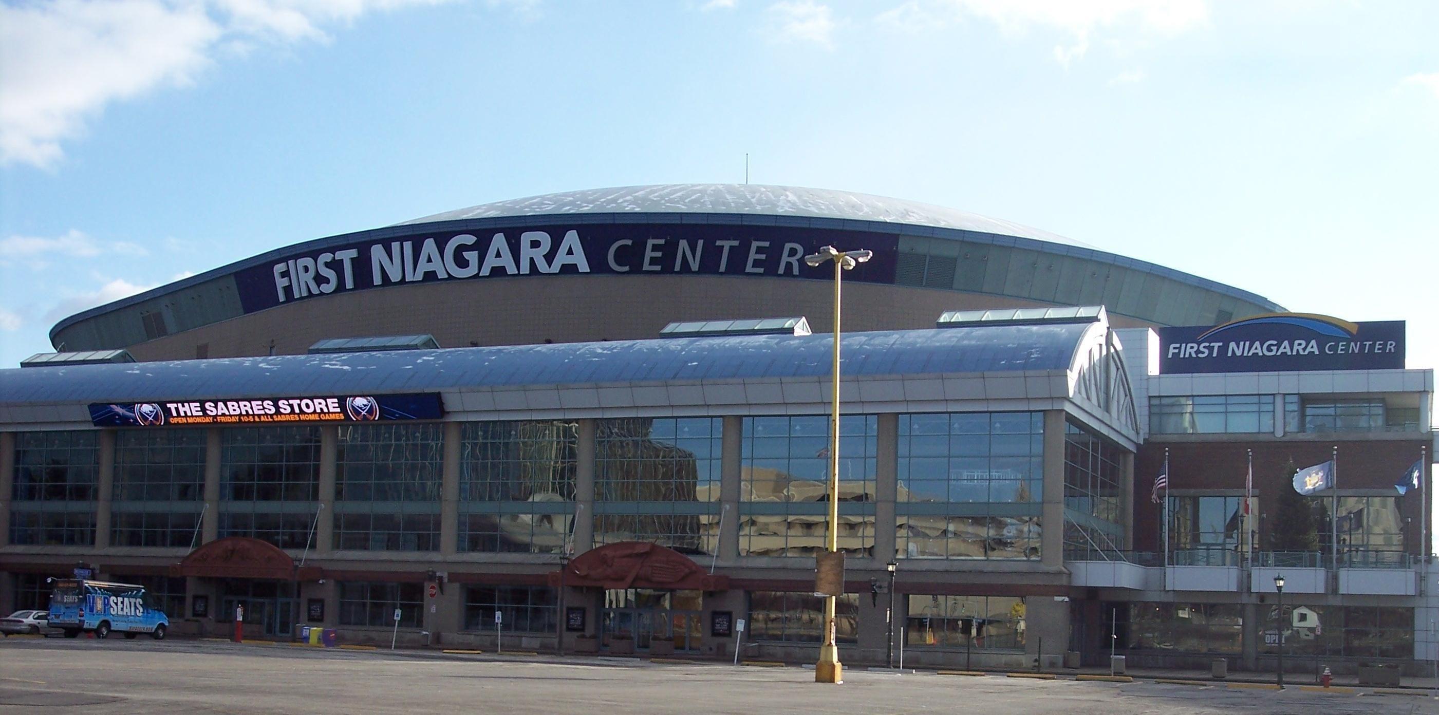 First Niagara Center Home to the Buffalo Sabres