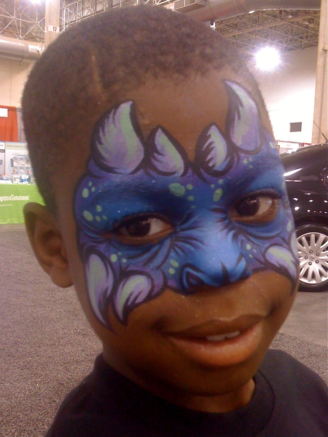 Awesome Monster Mask | Face Painting Inspiration | Pinterest ...