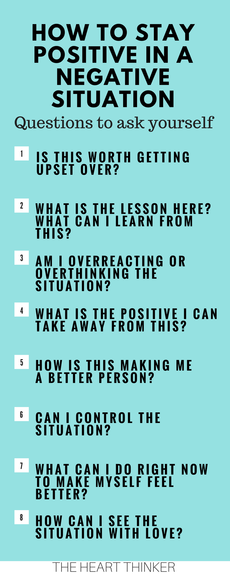 HOW TO STAY POSITIVE IN NEGATIVE SITUATIONS Positivity