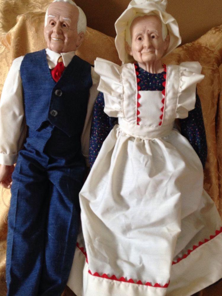 Handmade Grandma And Grandpa Dolls Grandma And Grandpa, Old Men
