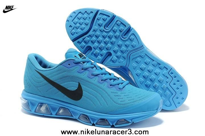 Sky Blue Black Nike Air Max Tailwind 6 Mens Shoes