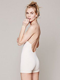 cc34afdab626 Intimately Low Back Seamless Romper at Free People Clothing Boutique