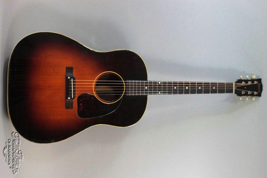 Gibson J-45 (1950) sunburst, Mahogany - Spruce, Case, VG/EC | eBay