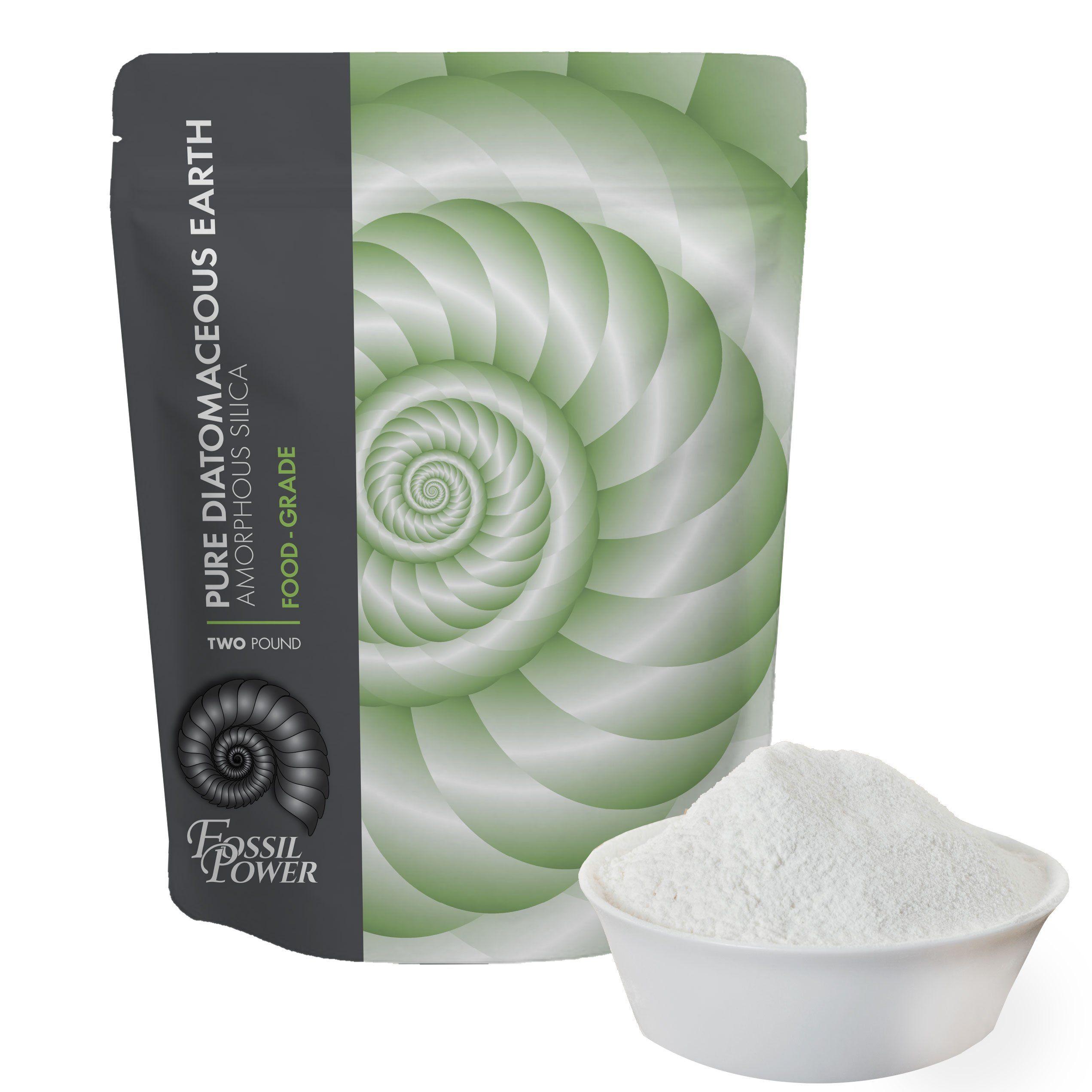 Diatomaceous Earth Food Grade Powder 2 lb. Bulk Resealable