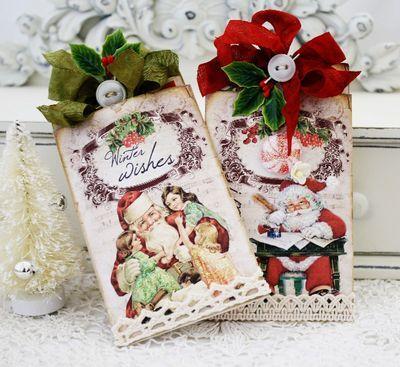 Melissa Phillips Christmas envelopes