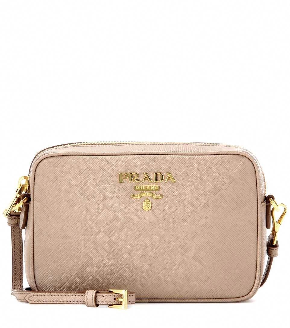 9e17b6f7e95b PRADA Saffiano Leather Crossbody Bag.  prada  bags  shoulder bags  leather   crossbody  lining    Pradahandbags