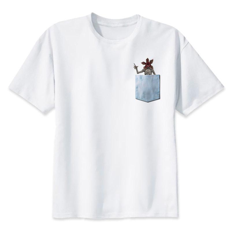 8cb2e7c5e5e9f stranger things south park T-Shirts