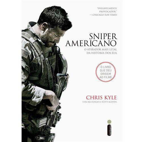 Livro Sniper Americano No Submarino Com Sniper Americano Chris Kyle The Sniper