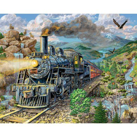 Vermont Christmas Company Big Horn - 1000 Piece Jigsaw Puzzle