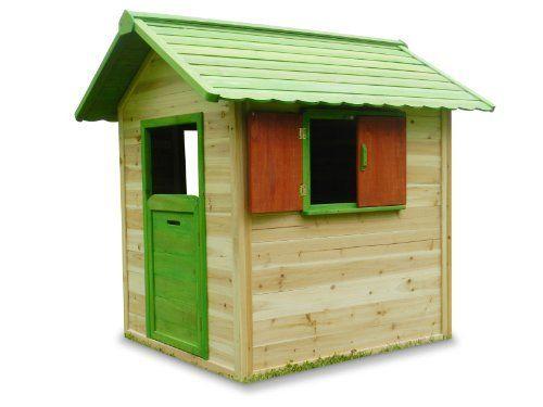 kinderspielhaus carli aus holz von greenseason, 290,- | garten,