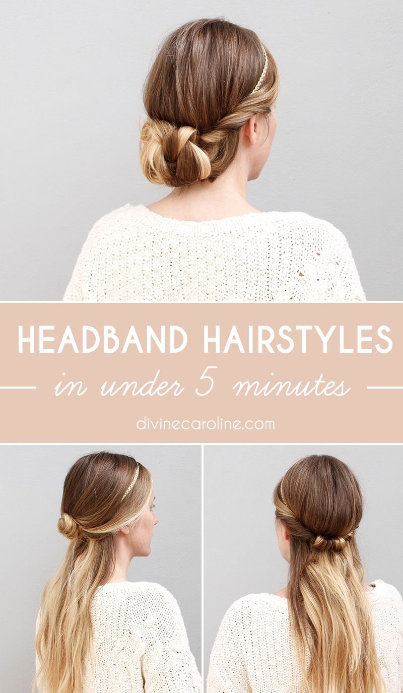 Master these supercute headband hairstyles in under minutes