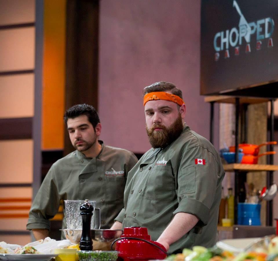 Chef gaetano and chef sean take a moment to assess their