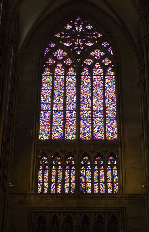 Symphony Of Light By Gerhard Richter Gerhard Richter Stained Glass Stained Glass Windows