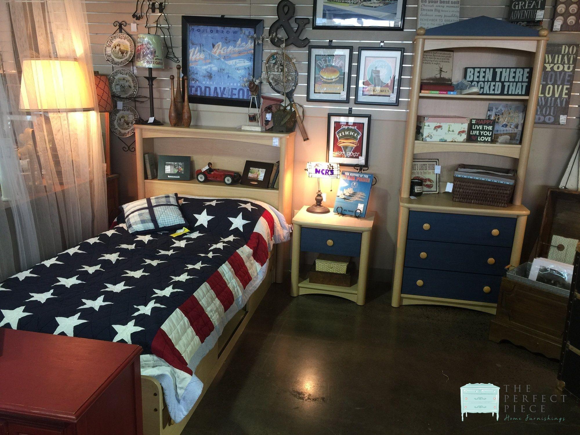 This Palliser 5 Piece Boy S Bedroom Set Includes Twin Platform