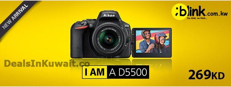 New Arrival: Nikon D5500 DSLR Camera at Blink Kuwait – 14 March 2015