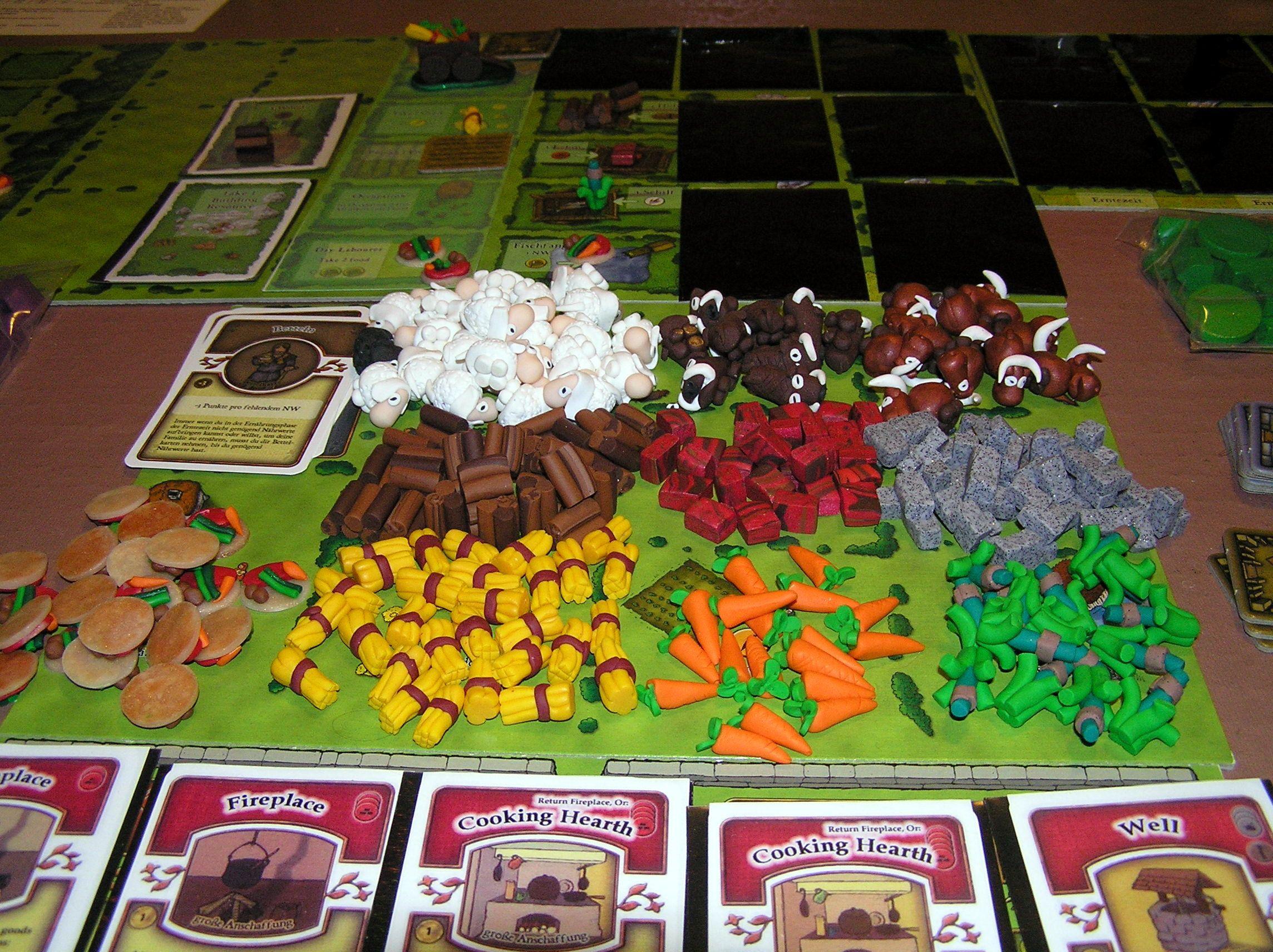 Pin By Hester Han On Agricola Pieces Pinterest Juegos Juegos De