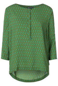 Loose fit blouse Groen