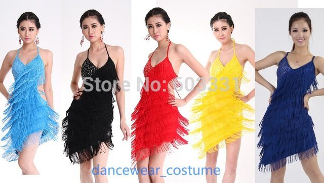 Vestido de salsa para mujer