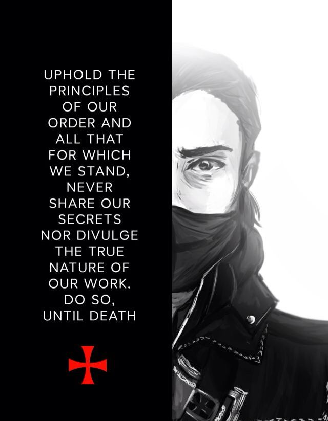 The Templar Oath | Assassins creed rogue, Assassins creed ...