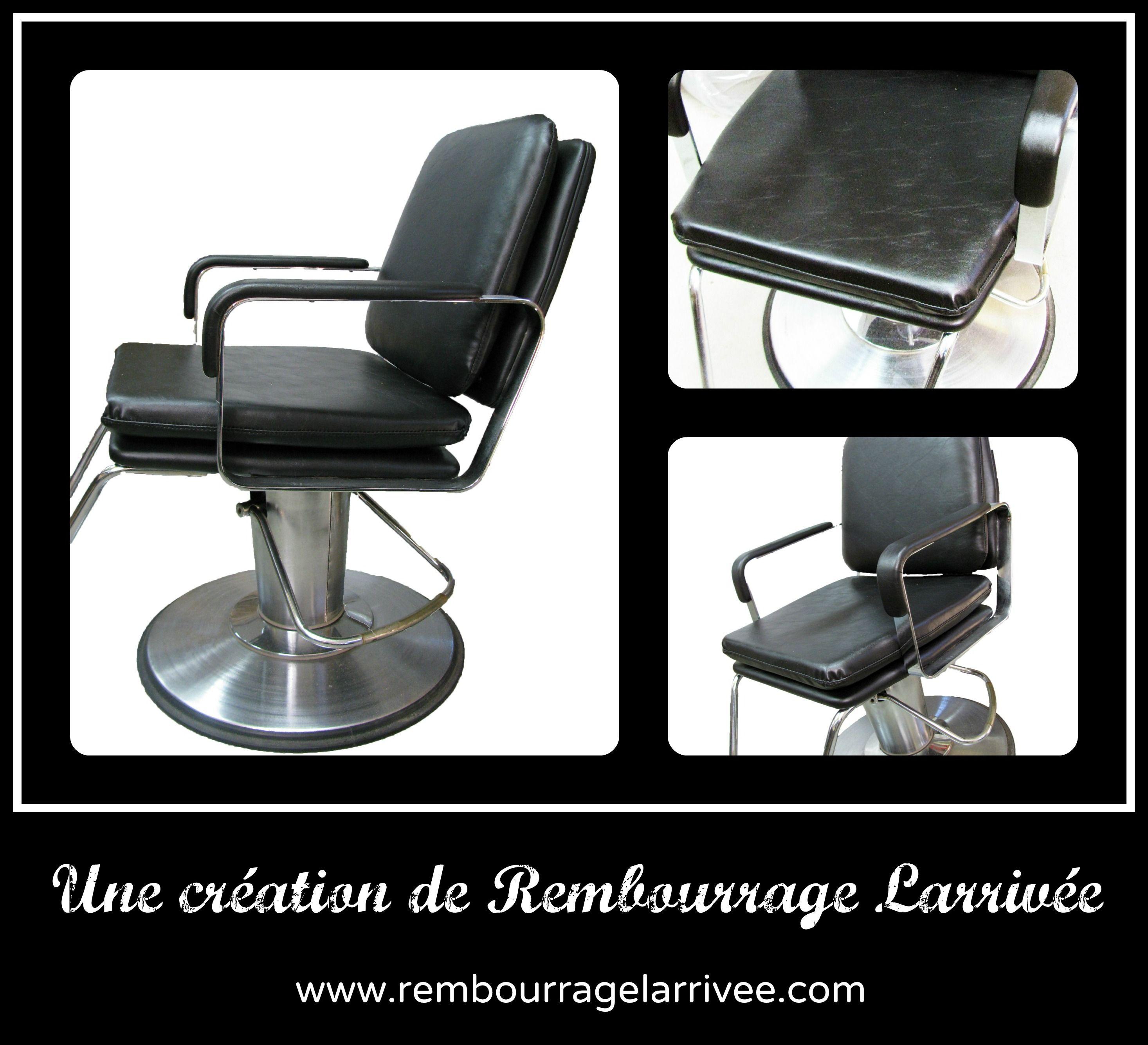 Une belle chaise de barbier qui vient d 39 tre rembourr - Specialiste de la chaise ...