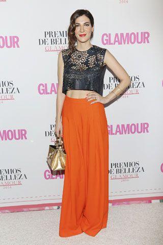 #CeciliaGessa #looks #celebridades #premios de #belleza #glamour #tendencia #croptop