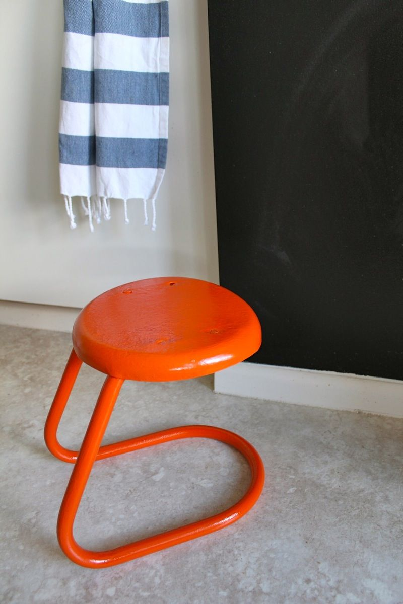 DIY Project: How to Paint Vintage Metal