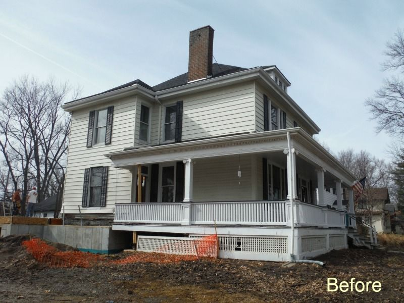 Before Picture Of The House With Old Masonite Siding James Hardie Siding Masonite Siding Hardie Siding