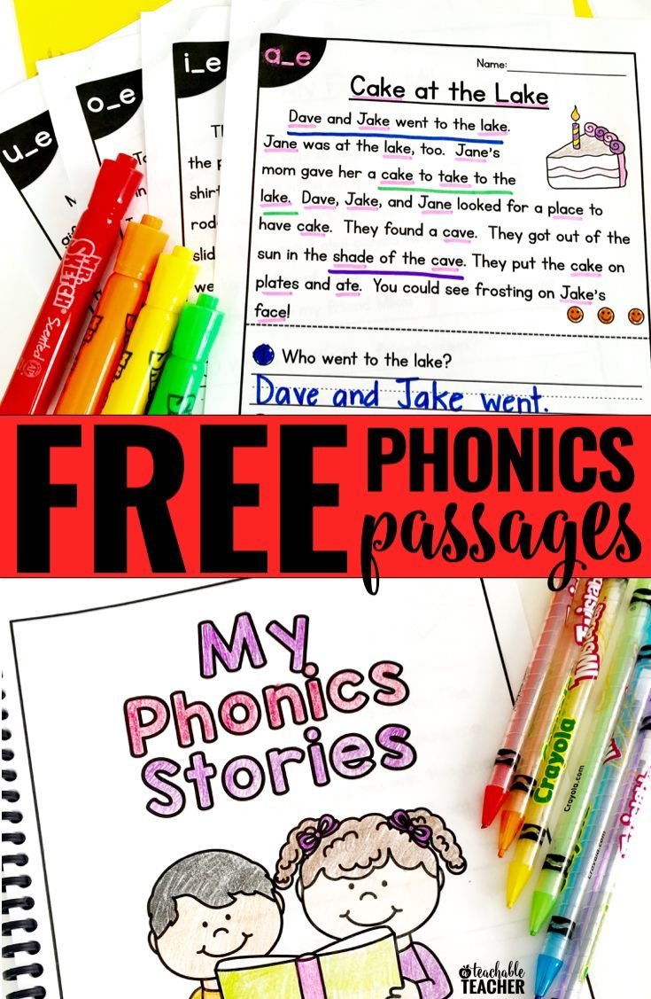- FREE Phonics Reading Passages Students Love To Read (With Images