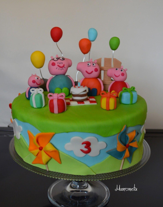 Cake Design Peppa Pig Party Pinterest Cake Designs