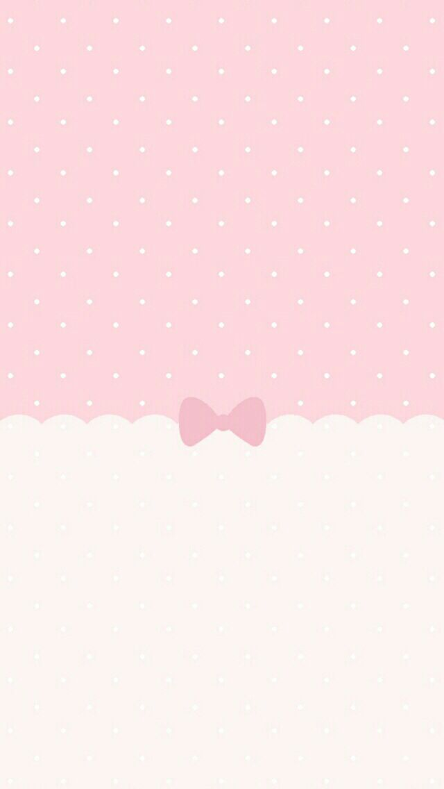Pink Polka Dots Ribbons And Bows What More Can You Ask For