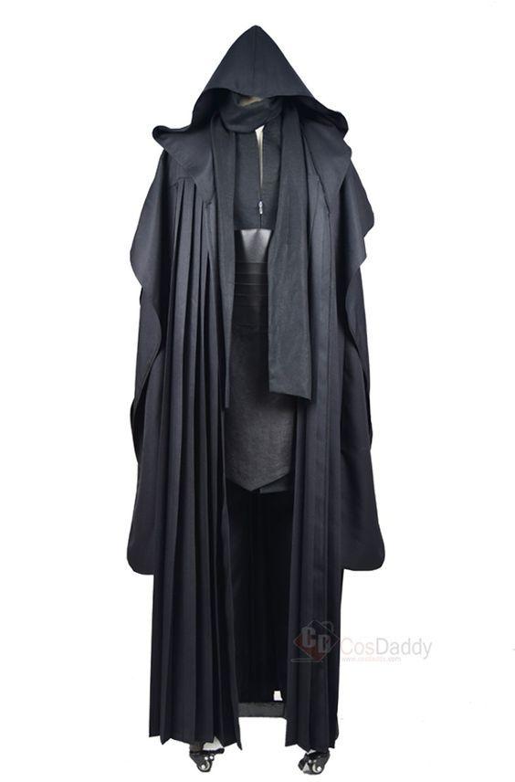 Star Wars Darth Maul Tunic Robe Uniform Cosplay Costume Linen ...