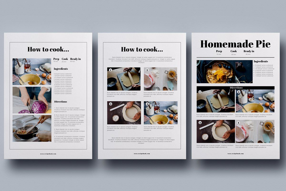 Canva Recipe Book Cookbook Cards Recipe Book Cookbook Template Recipe Book Templates
