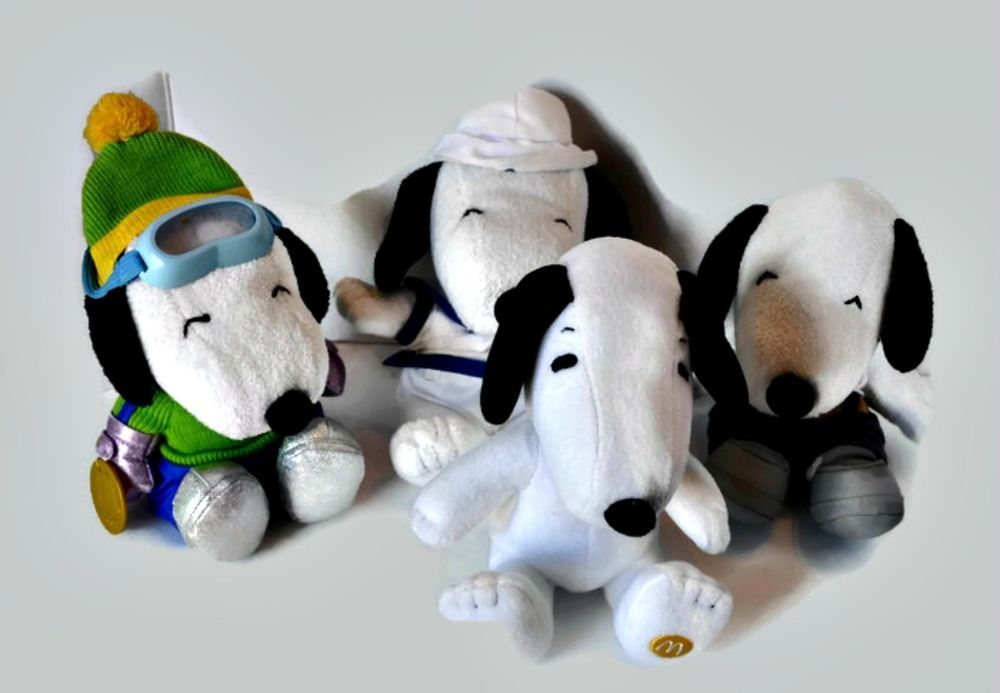 50th Snoopy Anniversary Mcdonalds Edition 11 Plush Peanuts Snoopy