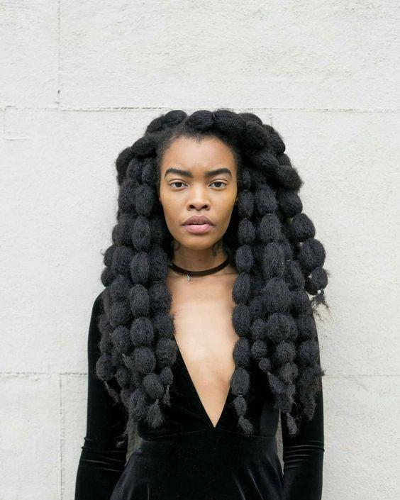 Der Natural Hair-Spickzettel! 20 Geist weht Möglichkeiten, Ihre Haare wachsen