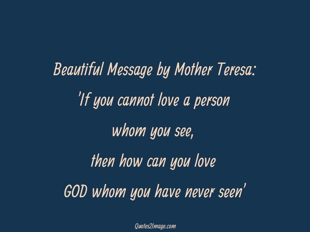 Mother Teresa Quotes Life Beautiful Messagemother Teresa  Inspirational Quotes
