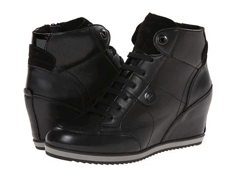 Schuhe Geox D ILLUSION Sneaker high black